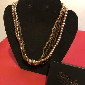 Multi strand necklace by Park Lane Brand new